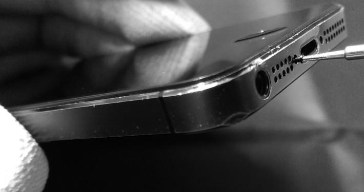 Öffnen eines iPhone 5